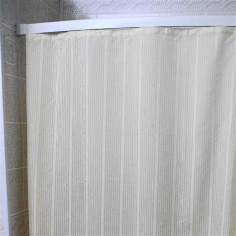 nylon shower curtains kartri super stripe nylon shower curtain w sewn eyelets