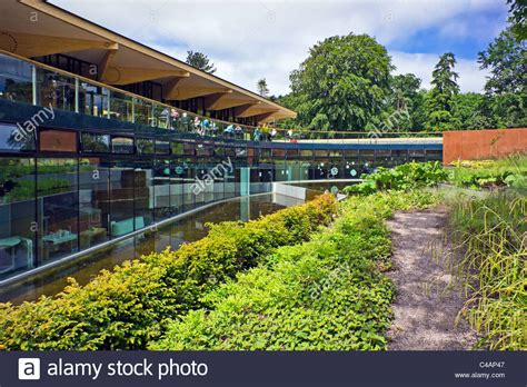 Edinburgh Botanic Gardens Restaurant with The Gateway And Restaurant In The Royal Botanic Garden Stock Photo Royalty Free Image