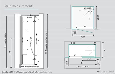 standard bathroom door dimensions standard shower cubicle dimensions www pixshark com