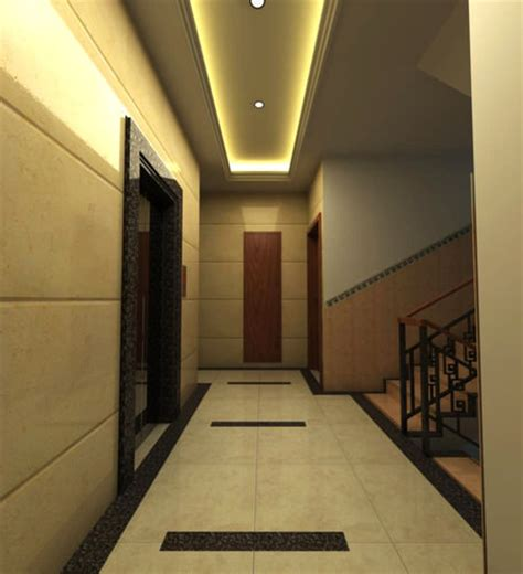 corridor lighting corridor with elegant lighting 3d model max