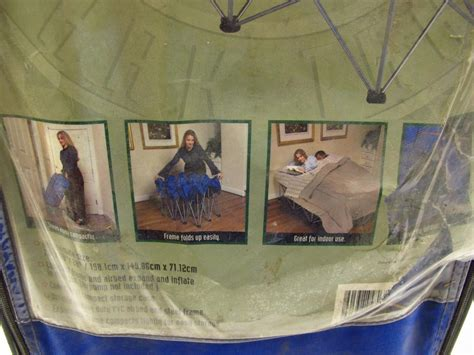 ozark trail queen size bed frame air mattress property room