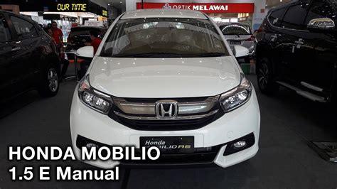 Honda Mobilio 1 5 E honda mobilio 1 5 e manual 2017 exterior and interior