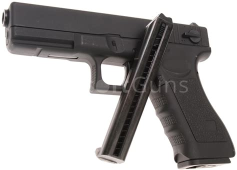Airsoft Gun Glock 18c glock 18c aep black cyma cm 030 airsoftguns