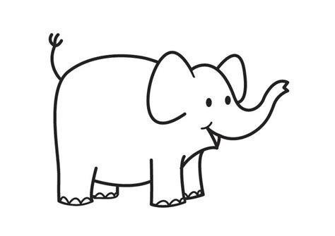 imagenes de elefantes faciles para dibujar m 229 larbild elefant bild 17581