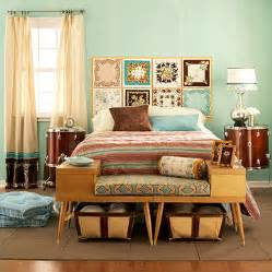 Retro Bedroom Ideas Colorful Vintage Bedroom Designs Images Amp Pictures Becuo