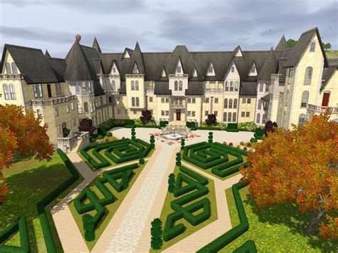 The Sims 3 House Floor Plans by Mod The Sims Grothfort Castle