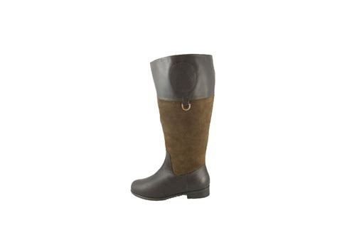 brown leather wide calf boots ros hommerson chip boot brown leather suede wide calf 219 99 slim and calf