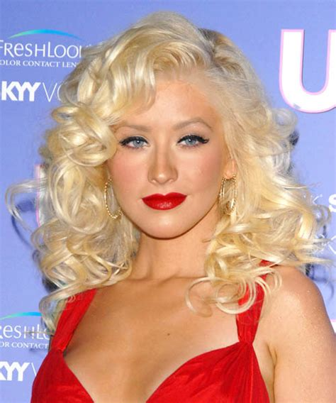 diamond face curly hairstyles christina aguilera hairstyles in 2018