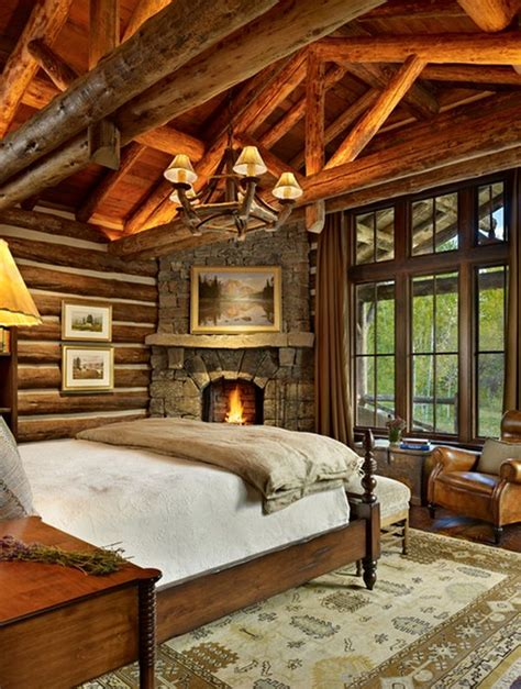 Rustic Corner Fireplace by How To Design A Rustic Bedroom That Draws You In