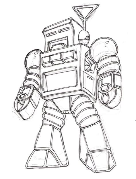 Drawing Robot by Retro Robot Wip By Pittstop On Deviantart