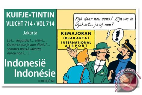 Petualangan Tintin Tintin Di Tibet By Herge Ori 514 0059 tintin dan indonesia news from indonesia