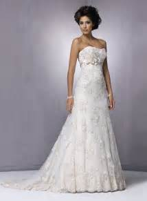 Strapless Wedding Dresses Strapless Lace Beach Wedding Dresses Classical And
