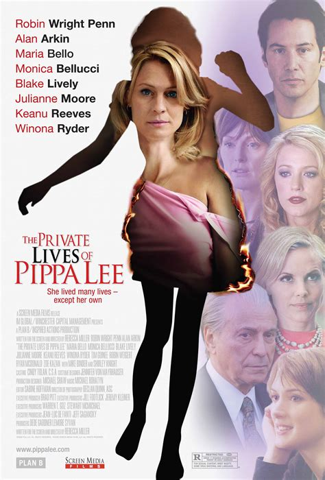 the private lives of brand new quot private lives of pippa lee quot poster filmofilia