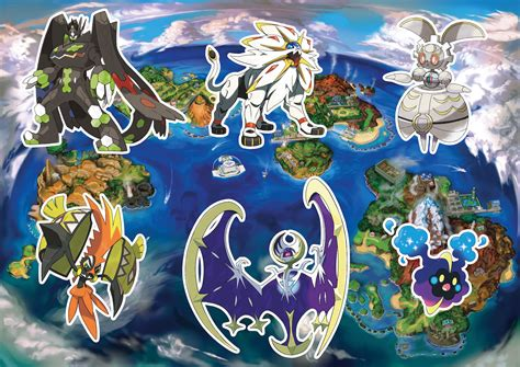 How To Turn A Picture Into A Coloring Page In Word by Pokemon Sun And Moon Guide How To Catch Every Legendary Pokemon Bgr
