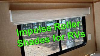 rv blinds impulse roller shades for rvs