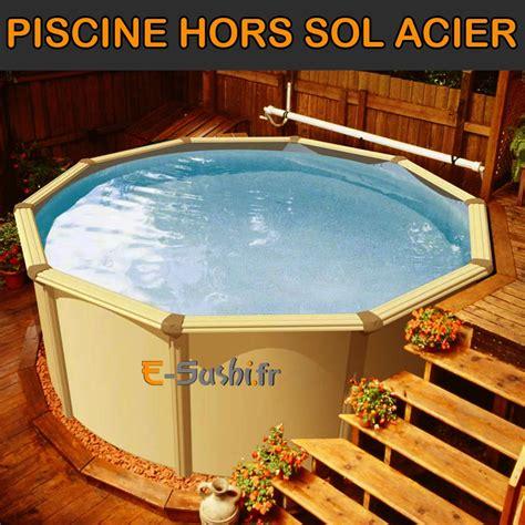 charming Terrasse Piscine Hors Sol #3: piscine-hors-sol-acier.jpg