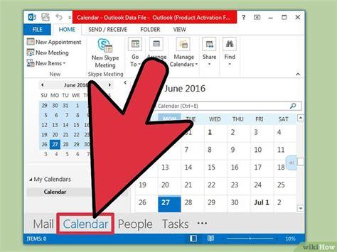 make a calendar in excel een kalender maken in excel wikihow
