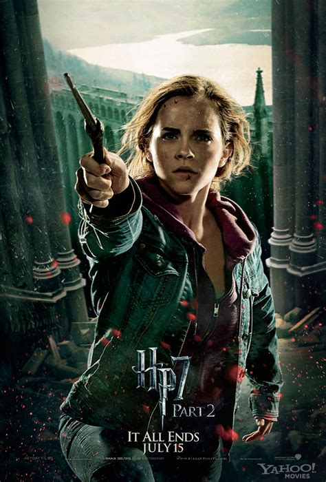 emma watson poster harry potter and the deathly hallows part 2 character