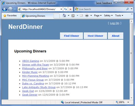 templates for master page in asp net nerddinner step 7 partials and master pages