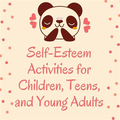 self esteem crafts for ultimate guide self esteem activities for children