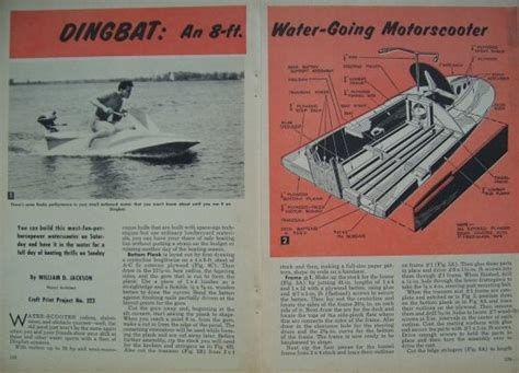 water scooter new york find vintage 1961 how to build 8 water scooter wave
