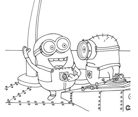 ninja minion coloring page dibujos para colorear maestra de infantil y primaria