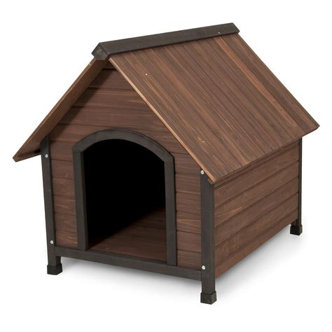 aspen pet dog house aspen pet offset entry dog house medium dog houses at