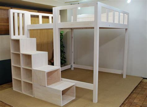 king size loft bed with stairs pinterest the world s catalog of ideas