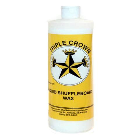 shuffleboard wax crown liquid shuffleboard wax thompson