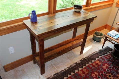 rustic farmhouse entry table rustic entryway table height stabbedinback foyer
