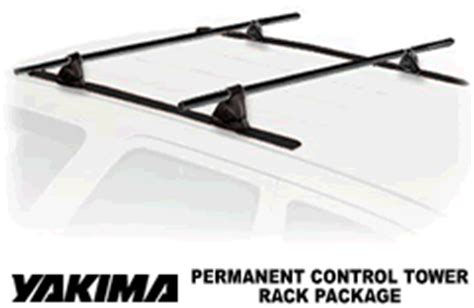 Permanent Roof Rack Installation by Yakima Tower Permanent Mount Roof Rack System With