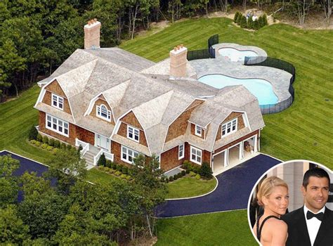 celebrity mansions kelly ripa mark consuelos from celebrity homes in the