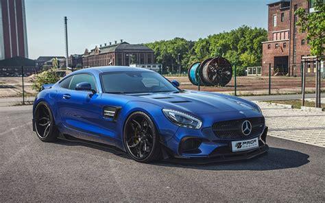 Prior Kits by Prior Design Reveals Mercedes Amg Gt Widebody Kit