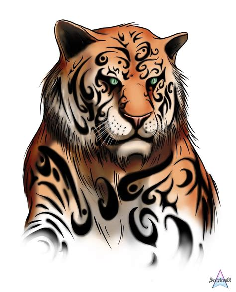 tiger tattoo design 55 tribal tiger tattoos