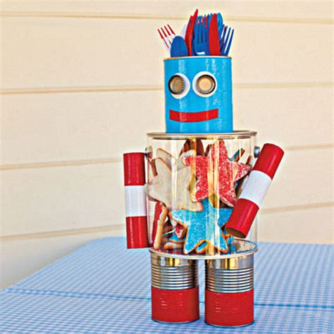 centerpiece craft ideas craft it a robot centerpiece for the 4th of july