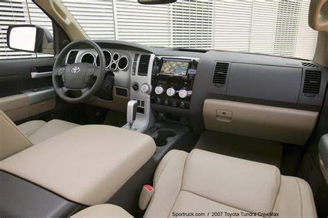 2014 Tundra Sr5 Interior 2007 Toyota Tundra Crewmax Pictures And Information