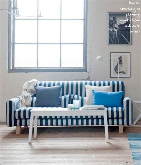 nautical couches nautical stripe sofa cover for the home pinterest