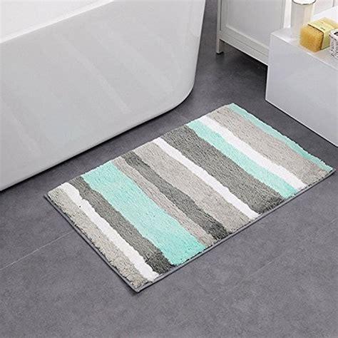hebe nonslip bathroom rug mat shag microfiber shower bath