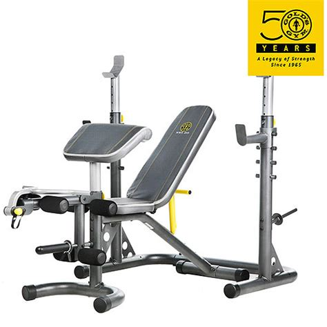 gold s gym xrs 20 olympic workout bench walmart com