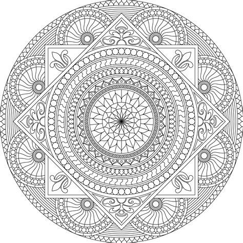 imagenes de mandalas muy dificiles mandalas dif 237 ciles 013 mandalas para colorear