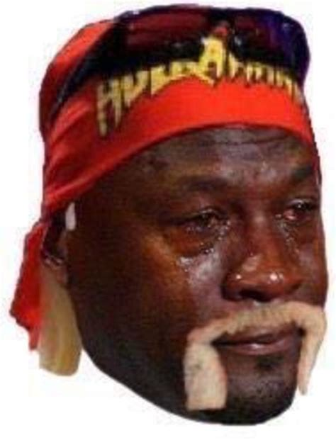 Jordan Crying Meme - hulk hogan crying michael jordan know your meme