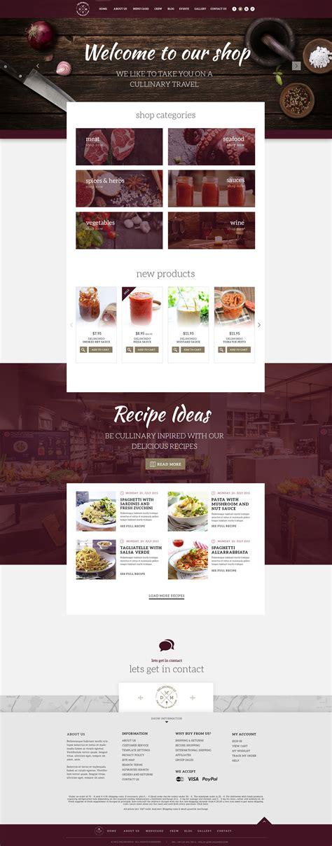 template photoshop restaurant delimondo 2 0 photoshop restaurant template by