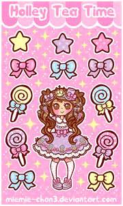 Kawaii Sugary Candy Stickers by miemie chan3 on DeviantArt