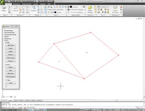 autocad layout zoom grenzen dokumentation manuell bearbeiten dataflor