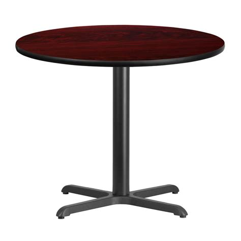flash furniture 36 mahogany laminate table top