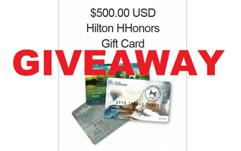 500 Gift Card Giveaway - loyaltylobby giveaway 500 hilton gift card loyaltylobby