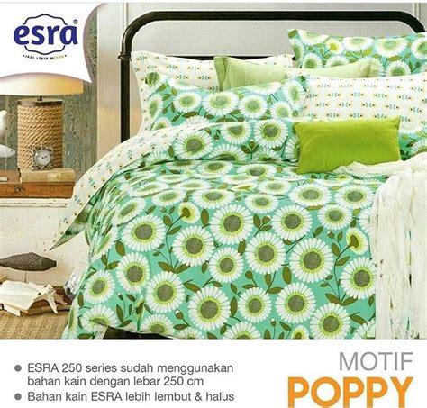 Harga Sprei Merk Esra detail product sprei dan bedcover poppy toko bunda