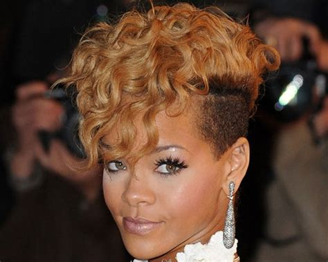mohawk with shaved hairstyle for black women trendy mohawk haircuts hairstyles for modish girls