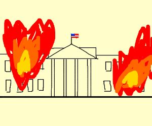 when was the white house burned down burning the white house down