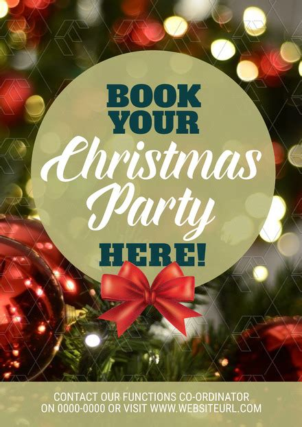 book your christmas party